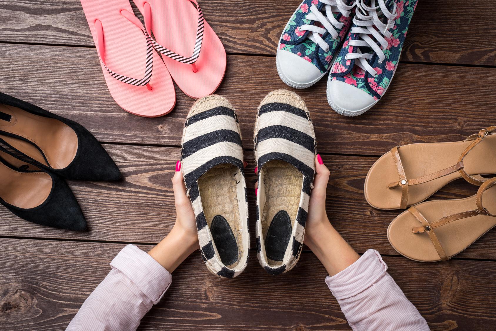 Modne buty powinny być wygodne